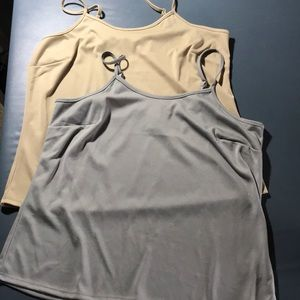 Two Camisole Tops